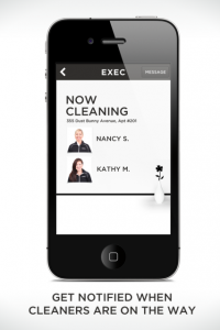 Exec cleaning app