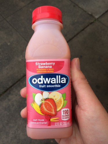 odwalla fruit smoothie