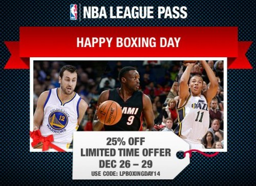 Boxing Day Ad Luol Deng