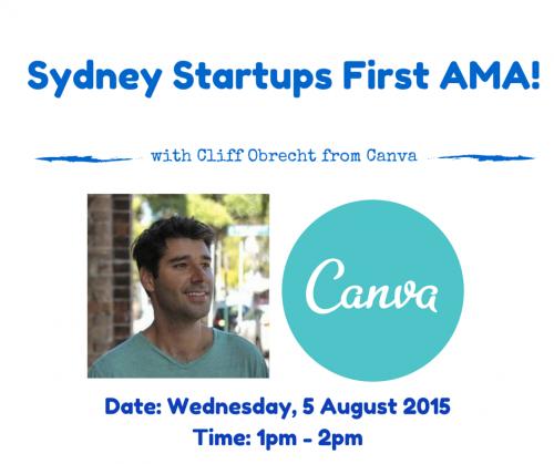 Sydney startups  Canva AMA