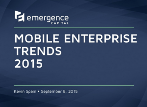 mobile enterprise trends