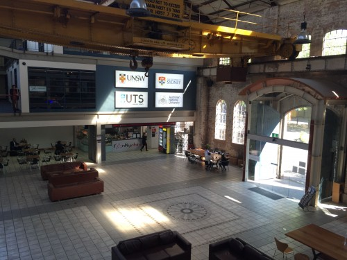 Australian Technology Park (ATP) National Innovation Centre Ground Floor
