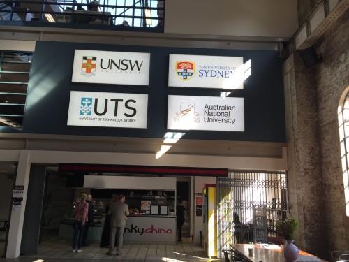 Australian Technology Park (ATP) National Innovation Centre Ground Floor University Signs