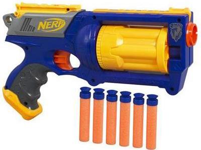 Nerf guns & focus