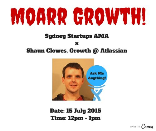 Sydney Startups x Atlassian AMA on growth