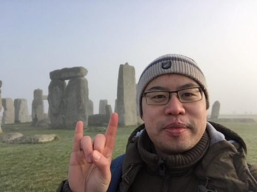 Rocking it at Stone Henge