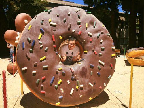 Donuts are bigger in America